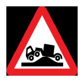 Ανώμαλο οδόστρωμα (κίνδυνος για οχήματα μακράς βάσης)