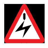 Ηλεκτροφόρα καλώδια πάνω από το δρόμο