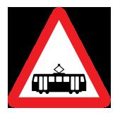 Συμβολή με γραμμή τράμ