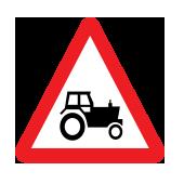 Συχνή χρήση δρόμου από γεωργικούς ελκυστήρες