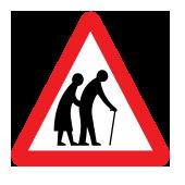 Συχνή χρήση του δρόμου από ηλικιωμένους
