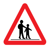 Συχνή χρήση του δρόμου από παιδιά - Σχολείο
