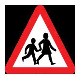 Συχνή χρήση του δρόμου από παιδιά