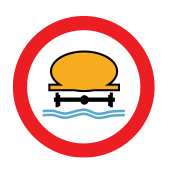 Απαγορεύεται η διέλευση οχημάτων που μεταφέρουν ύλες που προκαλούν ρύπανση στο νερό