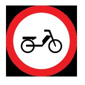 Απαγορεύεται η διέλευση σε μοτοποδήλατα
