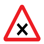 Crossroads with priority to the right