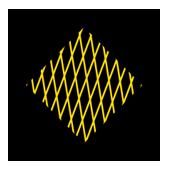 Ελεγχόμενο τετράγωνο Απαγορεύεται η στάση εκτός σε αναμονή για στροφή δεξιά