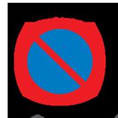Περιοχή απαγόρευσης στάθμευσης (στάθμευση περιορισμένης χρονικής διάρκειας)