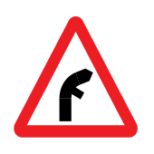 Junctions on bend ahead