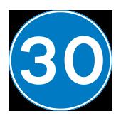Υποχρεωτικό ελάχιστο όριο ταχύτητας